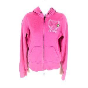 Victoria Secret Womens Pink Hoodie S